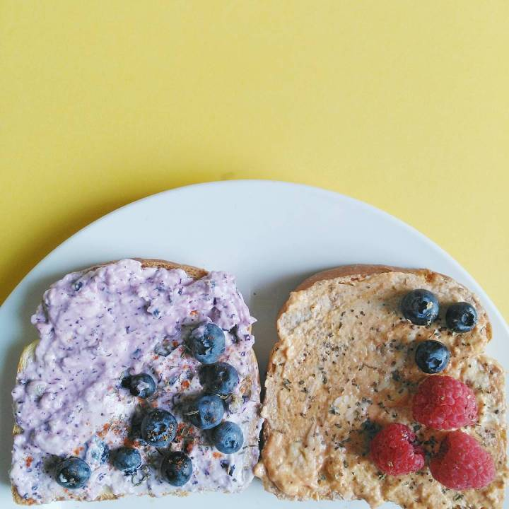 Dairy-free Cream Cheese Toast Goodness