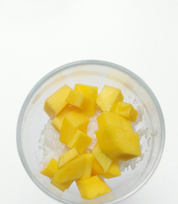 Coconut Rice + MangoDessert