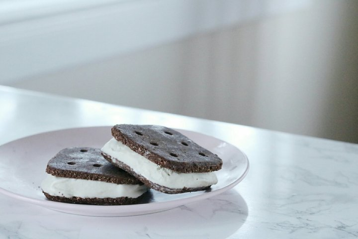 Vegan Nice Cream Sandwich